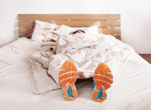 Dormir avec des chaussures